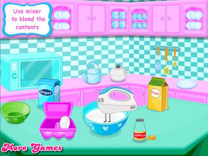 Cooking Cute Heart Cupcakes - screenshot thumbnail
