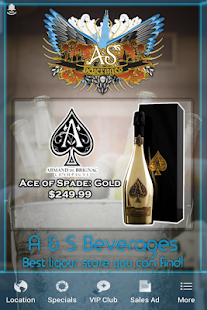 A & S BEVERAGES- screenshot thumbnail