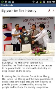 New Sarawak Tribune screenshot 1