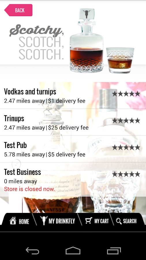 DrinkFly- screenshot