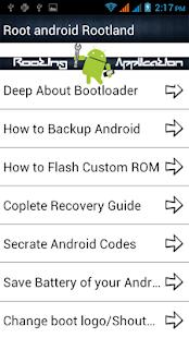 Root android : Rootland - screenshot thumbnail