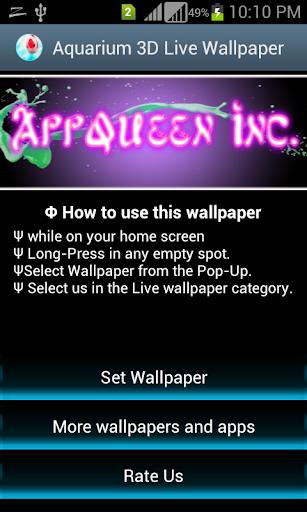Aquarium App Wallpapers