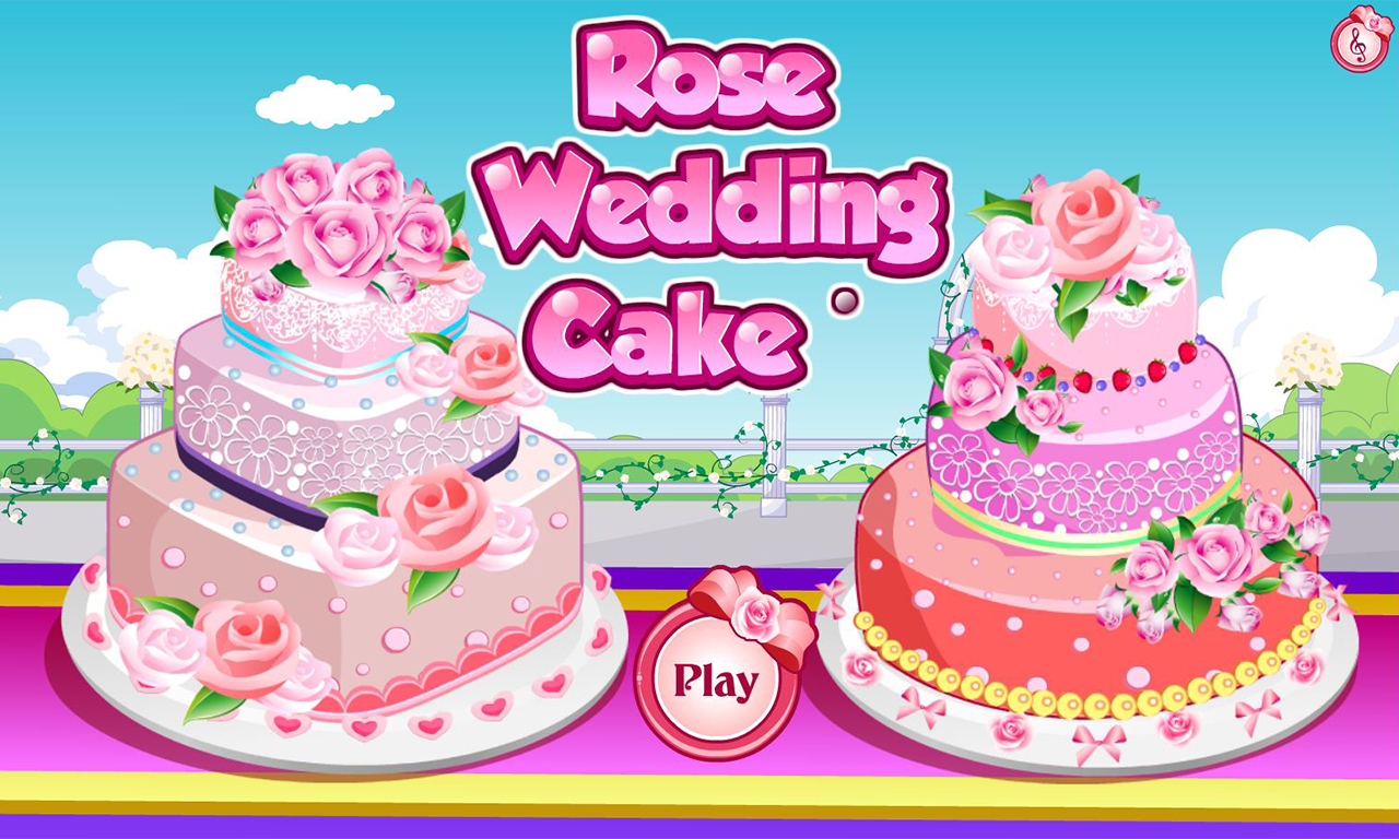 rose wedding cake game android apps on google play. Black Bedroom Furniture Sets. Home Design Ideas