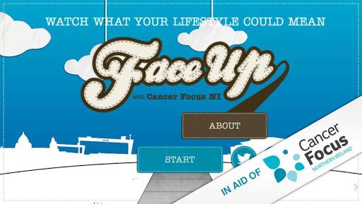 FaceUp - Cancer Focus NI