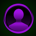 GO SMS Purple Platinum Theme icon