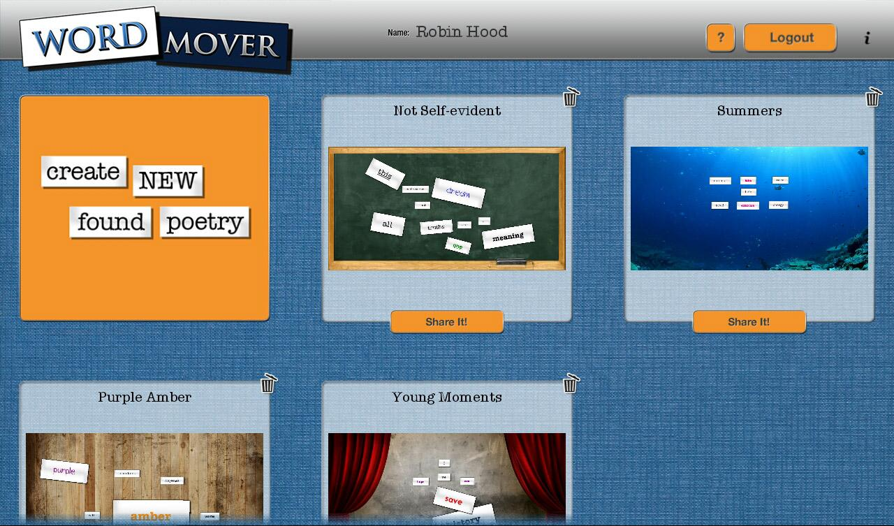 Word Mover- screenshot