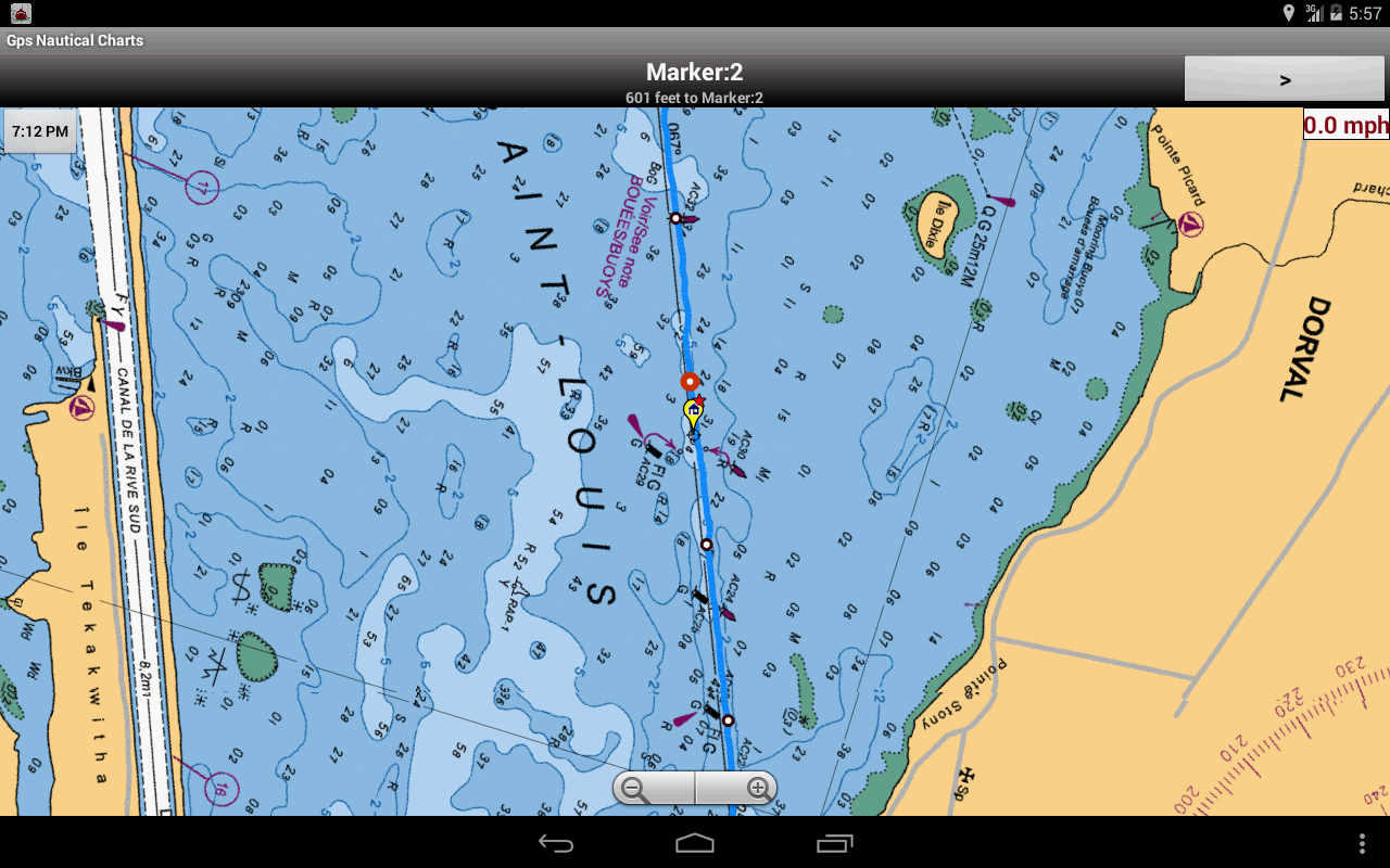 Marine/Nautical Charts-UK/IRL - screenshot