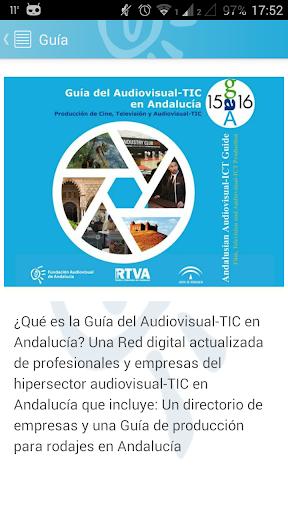 Guía Audiovisual-TIC Andalucía