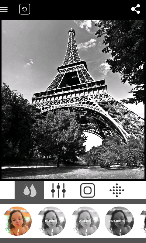 BlackCam - Black&White Camera- screenshot