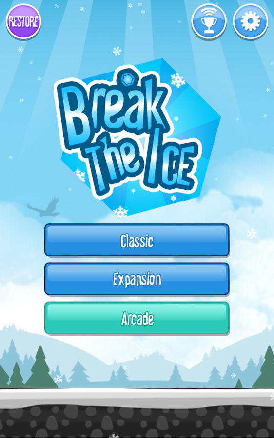 Break The Ice: Snow World - screenshot