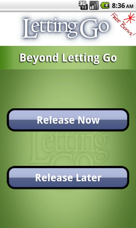 Beyond Letting Go - screenshot