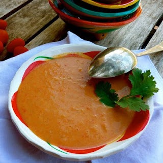 Cream of Roasted Tomato Soup.
