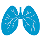 Breathing exercise icon