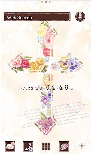 Cute Theme-Floral Cross- 1.0 Windows u7528 1