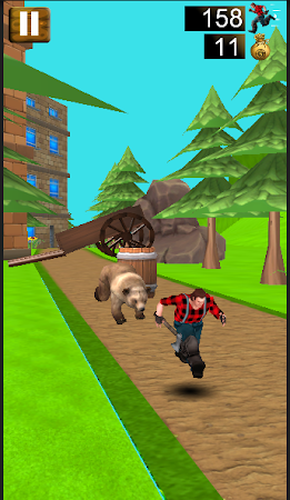 Danger Runner 3D Bear Dash Run 1.5 screenshot 1646782