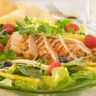 Tropical Chicken & Fruit Salad  .