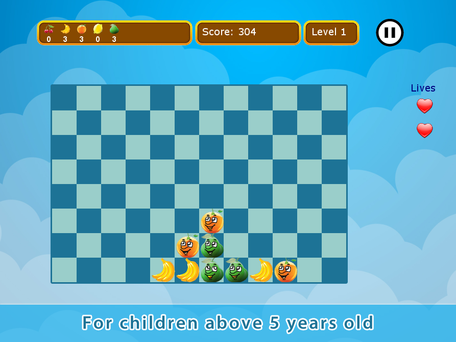 Match 3 Fruits Puzzle Game- screenshot