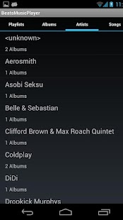 RokBeats Music Player - screenshot thumbnail