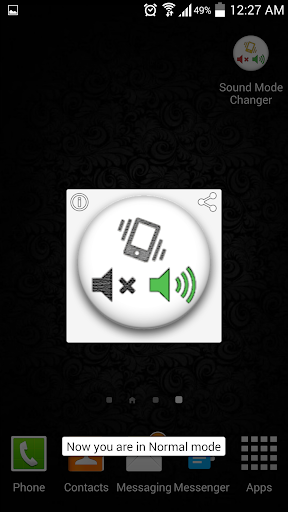 Sound Mode Changer
