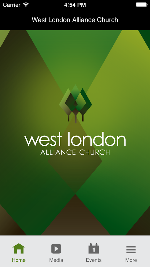 West London Alliance Church- screenshot