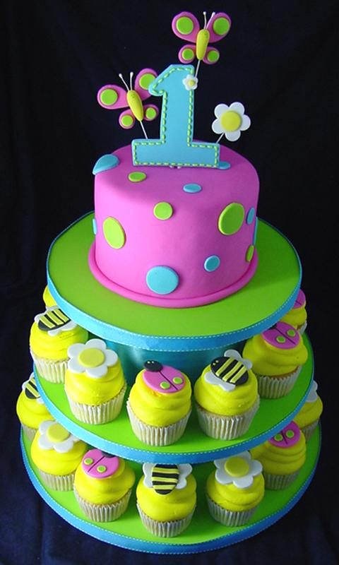 Cake Designs For 1 Year Birthday : Birthday Cake Ideas - Android Apps on Google Play