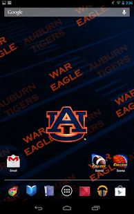Auburn Tigers Live Wallpaper - screenshot thumbnail