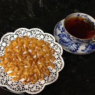 Zoolbeyah (Iranian / Persian funnel pancake).