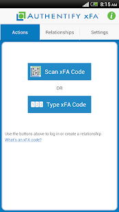 Authentify xFA - screenshot thumbnail