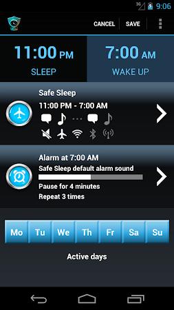 Safe Sleep - Alarm Clock ! 2.56 screenshot 253629