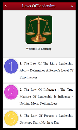 21 Laws of Leadership Skills