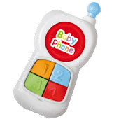 Baby phone toy for toddlers