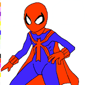 Super Spider Coloring Game
