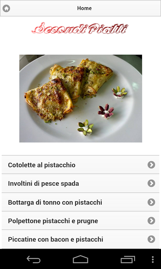 Tutto al Pistacchio- screenshot