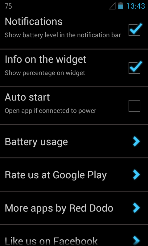 Customized Battery- screenshot