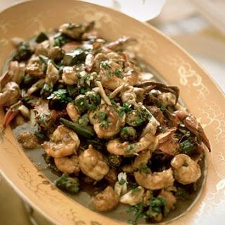 Shrimp and Crab Gumbo.