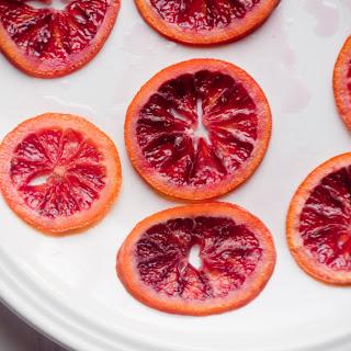 Candied Blood Orange Slices
