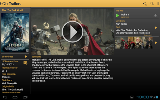 CineTrailer Cinema & Showtimes 4.0.46 screenshots 8