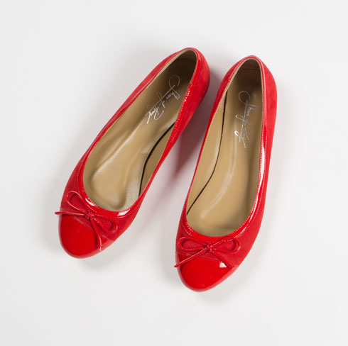 how to wear red flat shoes - photo #36