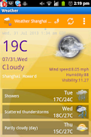 Screenshot of My Weather