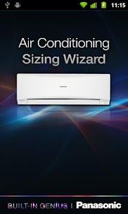 Panasonic Aircon Sizing Wizard - screenshot thumbnail