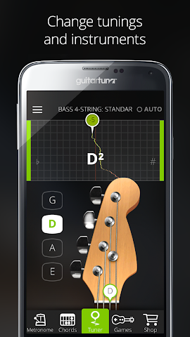 android Accordeur Guitares -GuitarTuna Screenshot 15