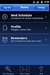 MyMedSchedule - screenshot thumbnail