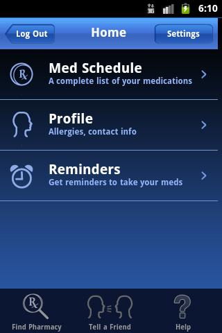 MyMedSchedule - screenshot