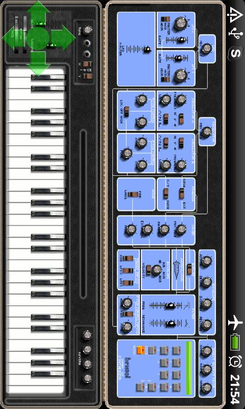 uSonic V Synth - screenshot