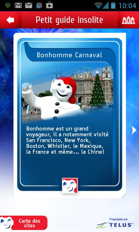 App Carnaval - screenshot