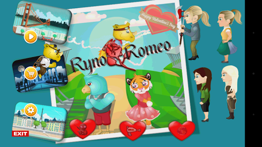 Fun action game RynoRomeo