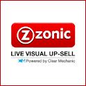Zonic Live Visual Up-Sell logo