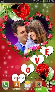 Love Photo Frames Animated LWP - náhled