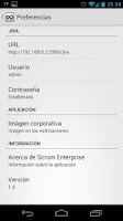 Screenshot of Scrum Enterprise