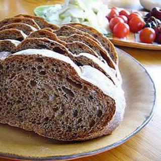 Dark Rye Bread.